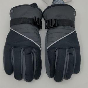 C9 Champion Boys Reflective Waterproof Ski Gloves